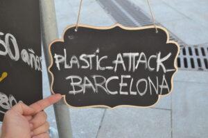 Plastic Attack Barcelona